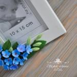 Фоторамка с цветами