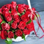 цветочная корзинка
